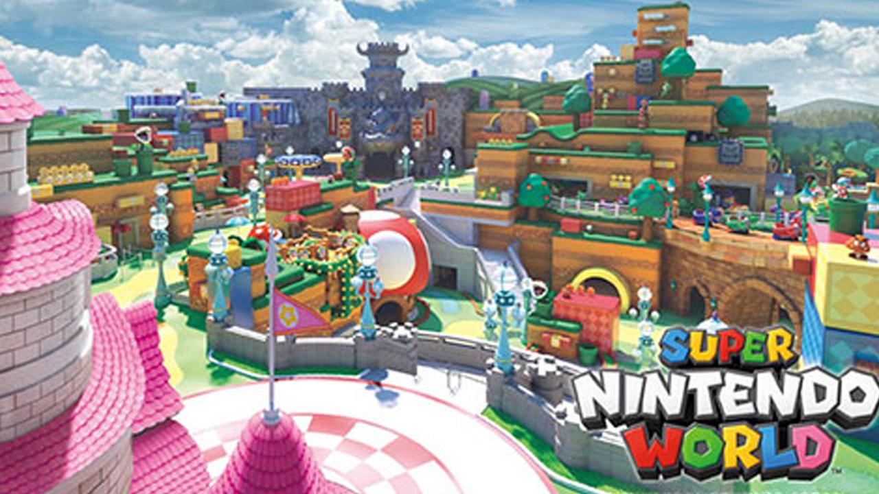 Report: Super Nintendo World coming to Universal Orlando's 'Epic Universe' park